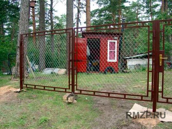 Ворота гаражные автоматические бу